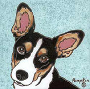 D179 - Rat Terrier Tile